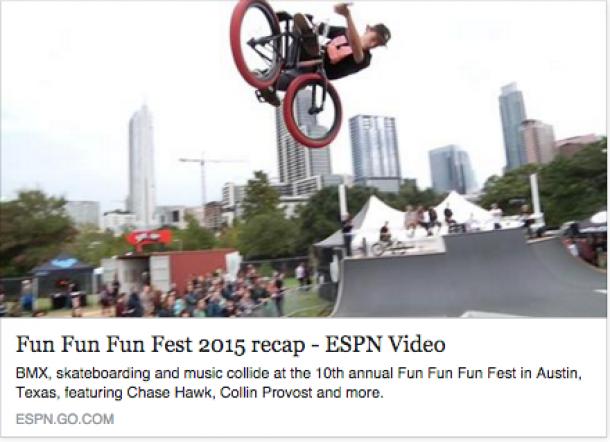 Watch this Fun Fun Fun Fest BMX Recap featuring DSGNS' Jeremy Hrabal!